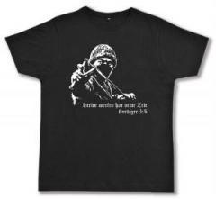 """Zum Fairtrade T-Shirt """"Steine werfen hat seine Zeit"""" für 17,00 € gehen."""