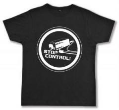 """Zum Fairtrade T-Shirt """"Stop Control Kamera"""" für 16,57 € gehen."""