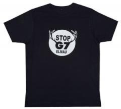 """Zum Fairtrade T-Shirt """"Stop G7 Elmau"""" für 17,00 € gehen."""
