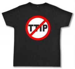 """Zum Fairtrade T-Shirt """"Stop TTIP"""" für 17,00 € gehen."""