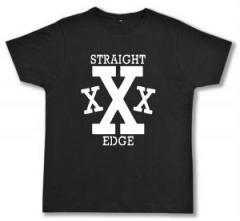 """Zum Fairtrade T-Shirt """"Straight Edge"""" für 17,00 € gehen."""