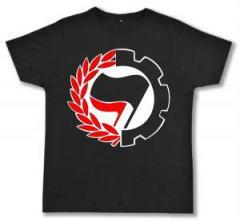 """Zum Fairtrade T-Shirt """"Working Class Antifa"""" für 17,00 € gehen."""