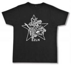"""Zum Fairtrade T-Shirt """"Zapatistas Stern EZLN"""" für 17,00 € gehen."""