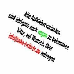 """Zum Aufkleber Druckangebot """"Vegane Aufkleber"""" für 999999999,99 € gehen."""