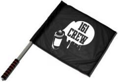 """Zum/zur  Fahne / Flagge (ca. 40x35cm) """"161 Crew - Spraydose"""" für 11,00 € gehen."""