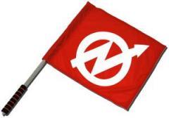 """Zum/zur  Fahne / Flagge (ca. 40x35cm) """"Besetzt"""" für 10,72 € gehen."""