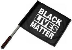 """Zum/zur  Fahne / Flagge (ca. 40x35cm) """"Black Lives Matter"""" für 11,00 € gehen."""
