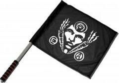 """Zum/zur  Fahne / Flagge (ca. 40x35cm) """"Carrot Power"""" für 11,00 € gehen."""