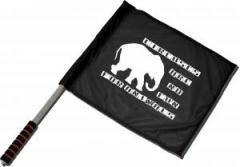 "Zum/zur  Fahne / Flagge (ca. 40x35cm) ""Circuses are no fun for animals"" für 10,72 € gehen."