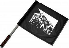 """Zum/zur  Fahne / Flagge (ca 40x35cm) """"Copcar"""" für 11,00 € gehen."""