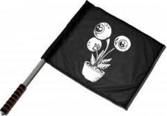 """Zum/zur  Fahne / Flagge (ca. 40x35cm) """"Eyeflower"""" für 11,00 € gehen."""