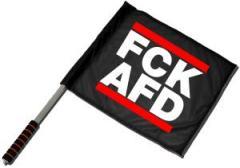 """Zum/zur  Fahne / Flagge (ca. 40x35cm) """"FCK AFD"""" für 11,00 € gehen."""