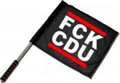 """Zum/zur  Fahne / Flagge (ca. 40x35cm) """"FCK CDU"""" für 10,72 € gehen."""