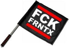 """Zum/zur  Fahne / Flagge (ca. 40x35cm) """"FCK FRNTX"""" für 10,72 € gehen."""