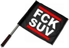 """Zum/zur  Fahne / Flagge (ca. 40x35cm) """"FCK SUV"""" für 11,00 € gehen."""