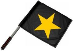 """Zum/zur  Fahne / Flagge (ca. 40x35cm) """"Gelber Stern"""" für 11,00 € gehen."""