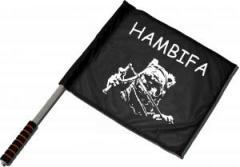 """Zum/zur  Fahne / Flagge (ca. 40x35cm) """"Hambifa"""" für 11,00 € gehen."""