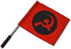 """Zum/zur  Fahne / Flagge (ca. 40x35cm) """"Hammer und Sichel"""" für 11,00 € gehen."""