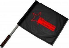 """Zum/zur  Fahne / Flagge (ca 40x35cm) """"Hasta la victoria siempre (che)"""" für 11,00 € gehen."""