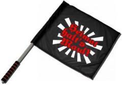 """Zum/zur  Fahne / Flagge (ca. 40x35cm) """"Heimat halt's Maul"""" für 10,72 € gehen."""