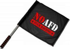 """Zum/zur  Fahne / Flagge (ca. 40x35cm) """"No AFD"""" für 11,00 € gehen."""