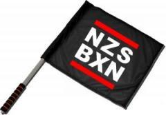 """Zum/zur  Fahne / Flagge (ca. 40x35cm) """"NZS BXN"""" für 11,00 € gehen."""
