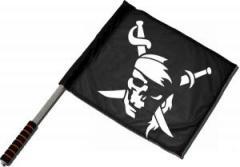 """Zum/zur  Fahne / Flagge (ca. 40x35cm) """"Pirate"""" für 11,00 € gehen."""