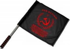 """Zum/zur  Fahne / Flagge (ca. 40x35cm) """"Red Action"""" für 11,00 € gehen."""