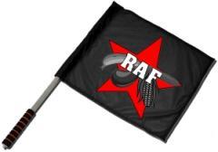 """Zum/zur  Fahne / Flagge (ca. 40x35cm) """"Rohkost Armee Fraktion"""" für 13,00 € gehen."""