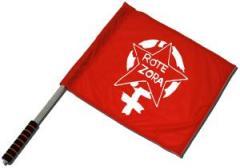 """Zum/zur  Fahne / Flagge (ca. 40x35cm) """"Rote Zora"""" für 11,00 € gehen."""