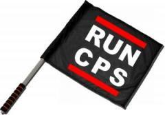 """Zum/zur  Fahne / Flagge (ca 40x35cm) """"RUN CPS"""" für 11,00 € gehen."""