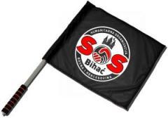 """Zum/zur  Fahne / Flagge (ca. 40x35cm) """"SOS Bihac"""" für 13,00 € gehen."""