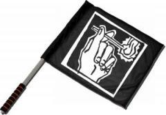 """Zum/zur  Fahne / Flagge (ca. 40x35cm) """"Streichholz"""" für 11,00 € gehen."""