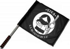 "Zum/zur  Fahne / Flagge (ca. 40x35cm) ""Viva la Resistencia!"" für 10,72 € gehen."