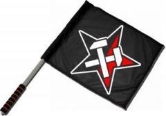 """Zum/zur  Fahne / Flagge (ca 40x35cm) """"Working Class Stern"""" für 11,00 € gehen."""
