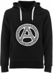 """Zum Fairtrade Pullover """"Anarchie - Tribal"""" für 40,00 € gehen."""