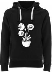 """Zum Fairtrade Pullover """"Eyeflower"""" für 40,00 € gehen."""