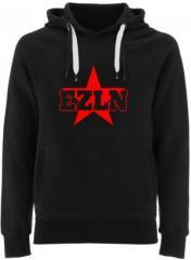 """Zum Fairtrade Pullover """"EZLN"""" für 40,00 € gehen."""