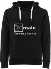 """Zum Fairtrade Pullover """"Female - weiß"""" für 40,00 € gehen."""