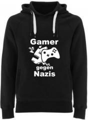 """Zum Fairtrade Pullover """"Gamer gegen Nazis"""" für 40,00 € gehen."""