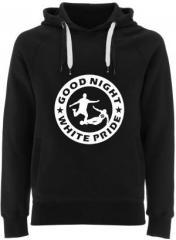 """Zum Fairtrade Pullover """"Good night white pride - Fußball"""" für 40,00 € gehen."""