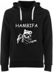 """Zum Fairtrade Pullover """"Hambifa"""" für 40,00 € gehen."""