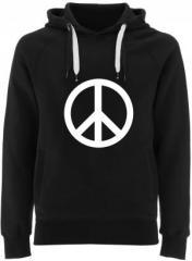 """Zum Fairtrade Pullover """"Peacezeichen"""" für 40,00 € gehen."""