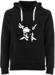 """Zum Fairtrade Pullover """"Pirate"""" für 40,00 € gehen."""