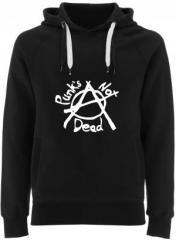 """Zum Fairtrade Pullover """"Punks not Dead (Anarchy)"""" für 40,00 € gehen."""