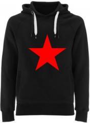 """Zum Fairtrade Pullover """"Roter Stern"""" für 40,00 € gehen."""