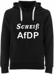 """Zum Fairtrade Pullover """"Scheiß AfDP"""" für 40,00 € gehen."""