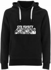 """Zum Fairtrade Pullover """"Solidarity"""" für 40,00 € gehen."""