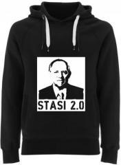 """Zum Fairtrade Pullover """"Stasi 2.0"""" für 40,00 € gehen."""