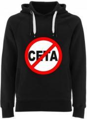 """Zum Fairtrade Pullover """"Stop CETA"""" für 40,00 € gehen."""
